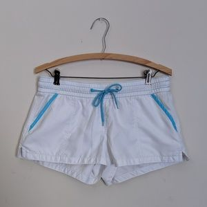 Old Navy white & blue board shorts